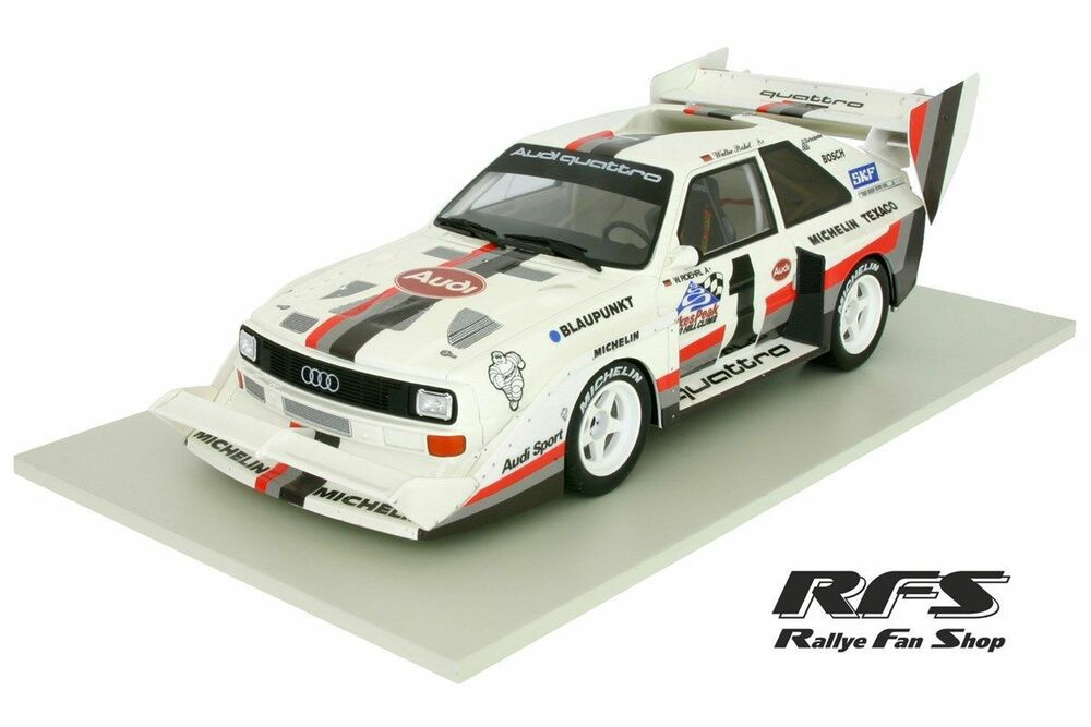 audi sport quattro s1 walter r hrl pikes peak 1987 1 18 ottomobile ot 171 ebay. Black Bedroom Furniture Sets. Home Design Ideas