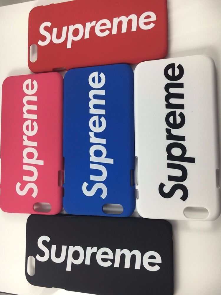 New Supreme Iphone 6 6S Multi Color Back Hard Case US