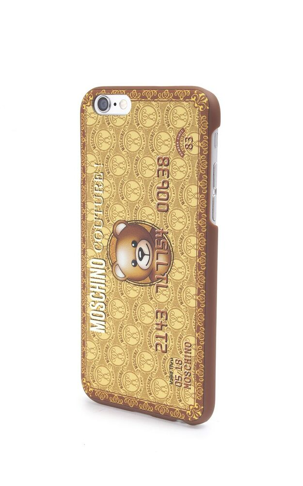 Details about SS16 Moschino Couture Jeremy Scott Gold Bear Credit Card CASE  FOR iPhone 6+ PLUS c3cdc7123892