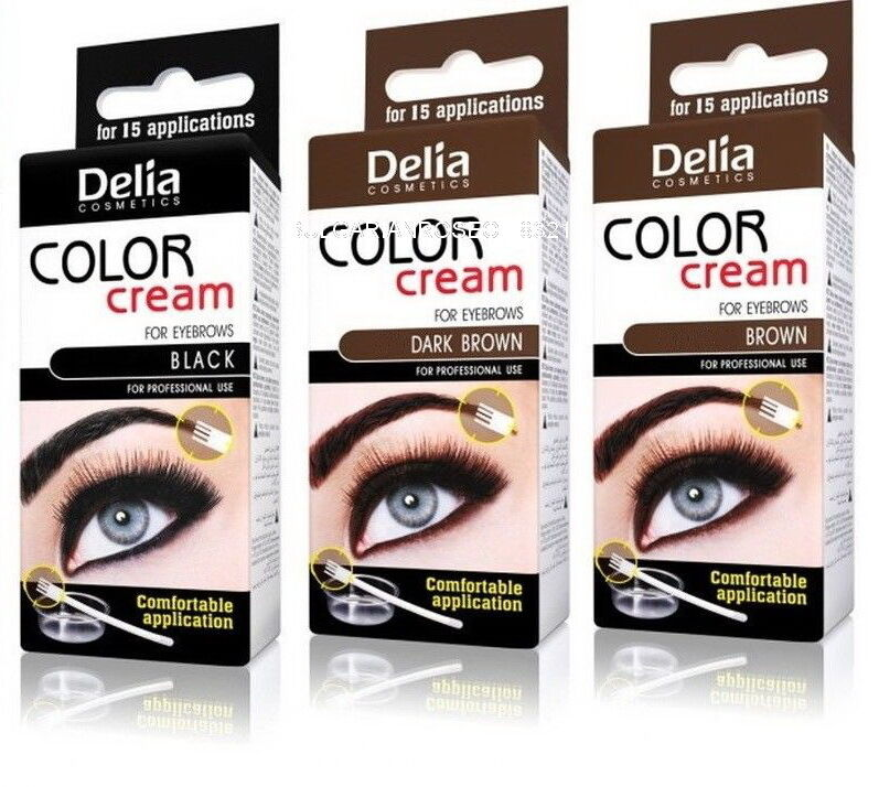 Best Henna Cream Eyebrow Professional Colour Tint Kit Set Dye 15