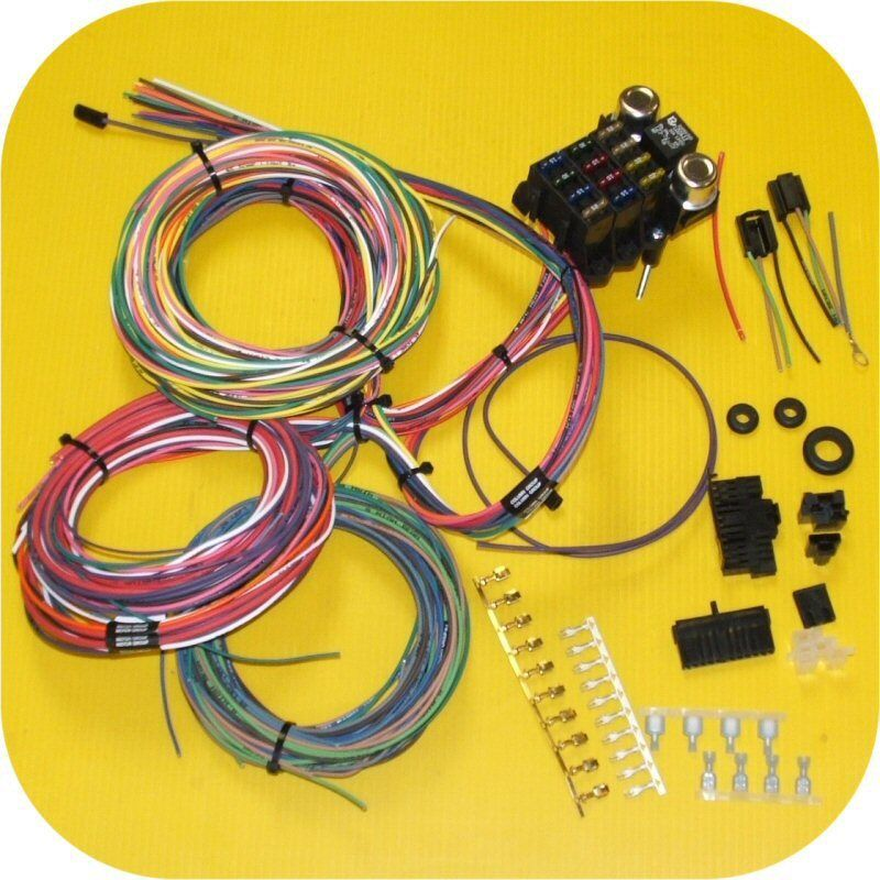 full wiring harness jeep cj7 cj5 cj8 cj6 scrambler willys. Black Bedroom Furniture Sets. Home Design Ideas