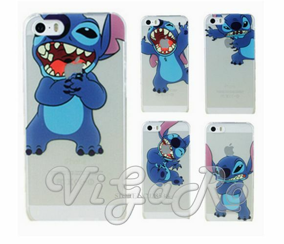 stitch phone case iphone 5s cover skin trasparent lilo and stitch stich for 7987