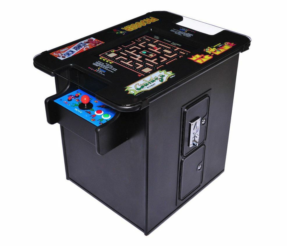 New commercial grade video arcade cocktail table machine for 10 games in 1 table