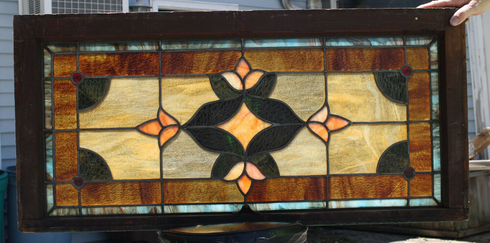 1920 39 s architectural antique victorian jeweled leaded for 1920s window