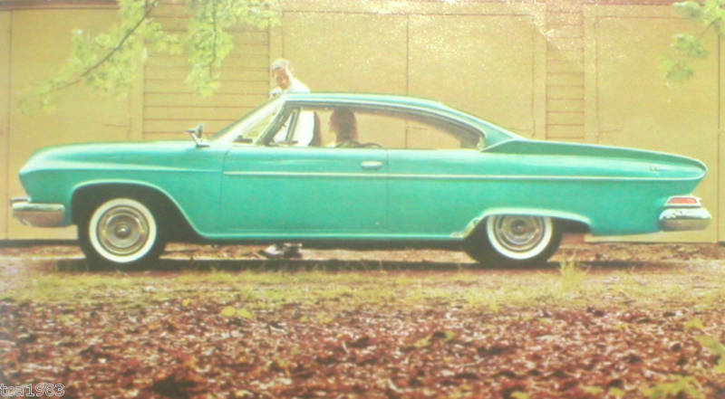 1961 dodge dart polara brochure catalog original ebay. Black Bedroom Furniture Sets. Home Design Ideas