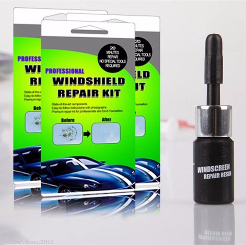 Professional Auto Windshield Glass Repair Kit Fast