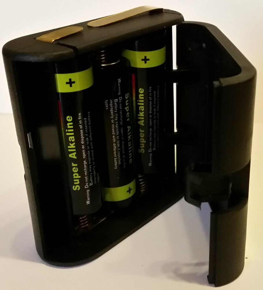 4 5v flachbatterie adapter geh use wechselgeh use 3lr6 inkl 3 aa batterien ebay. Black Bedroom Furniture Sets. Home Design Ideas