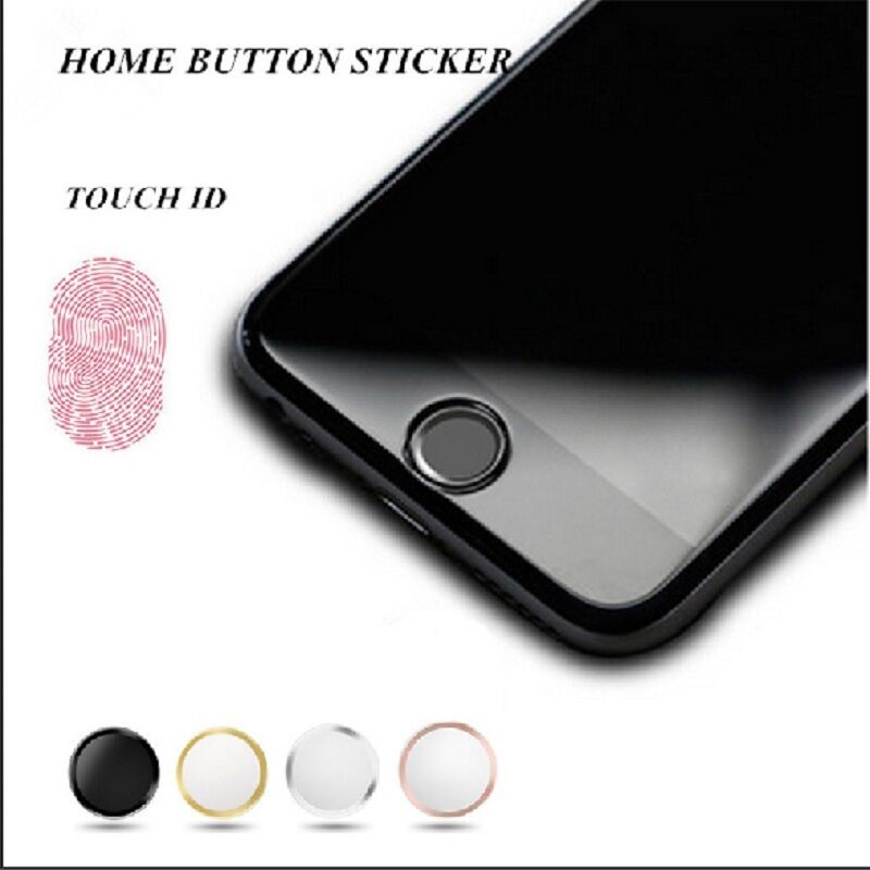 iphone home button sticker touch id home button sticker for iphone 5s 6 6s 7 plus 3796