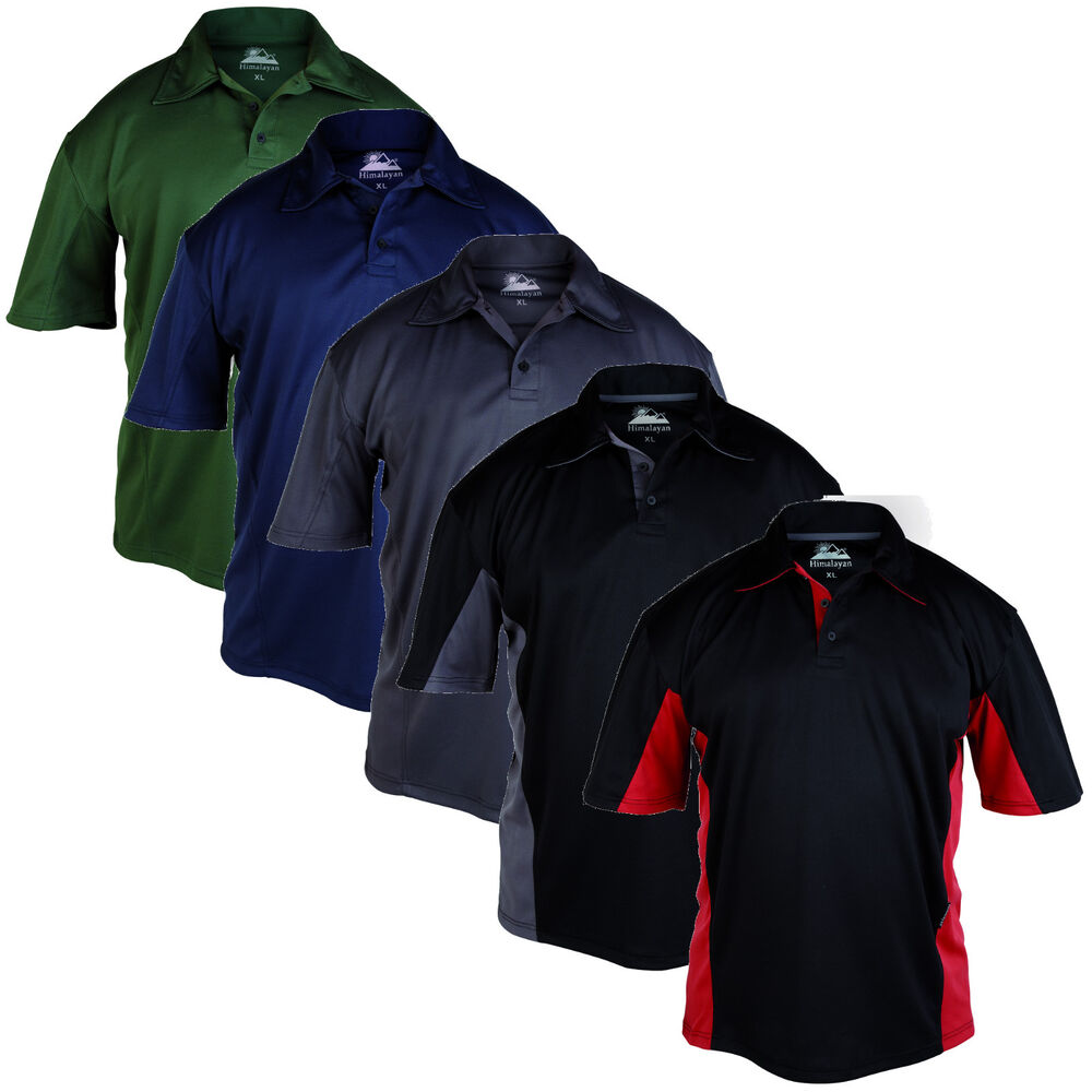 Himalayan Zephyr Mens Breathable Polyester Dri Fit Work T