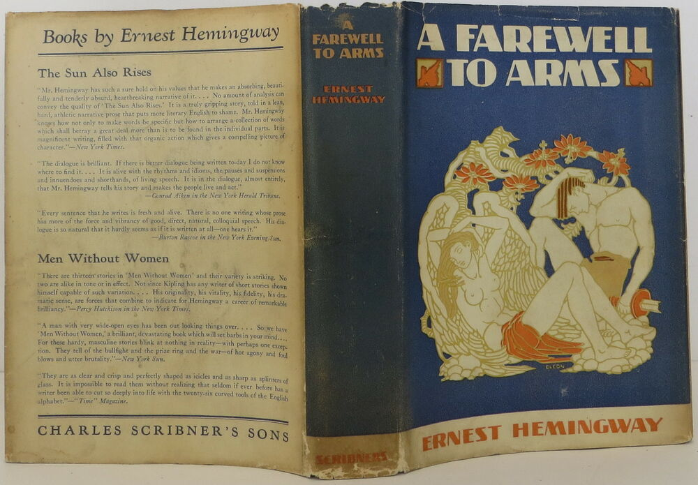 "literary analysis of the love story a farewell to arms by ernest hemingway ""a farewell to arms"" by ernest hemingway 4 love you like a son"" ""he should go to palermo"" ""he ought to go to capri"" ""i would."