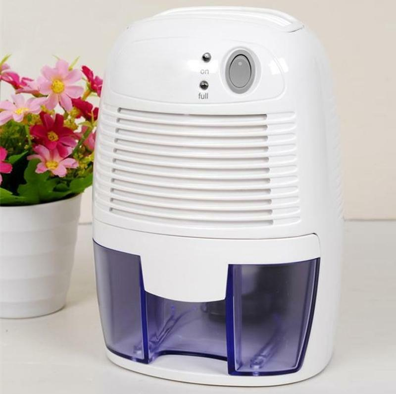 Us plug quiet electric home air room mini dehumidifier drying moisture absorber ebay for Small dehumidifier for bedroom