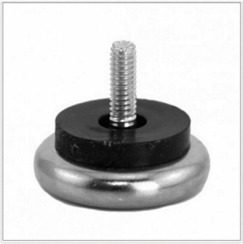 16 adjustable threaded nickel based furniture stem glide levelers 1 2 1 ebay - Threaded furniture feet ...