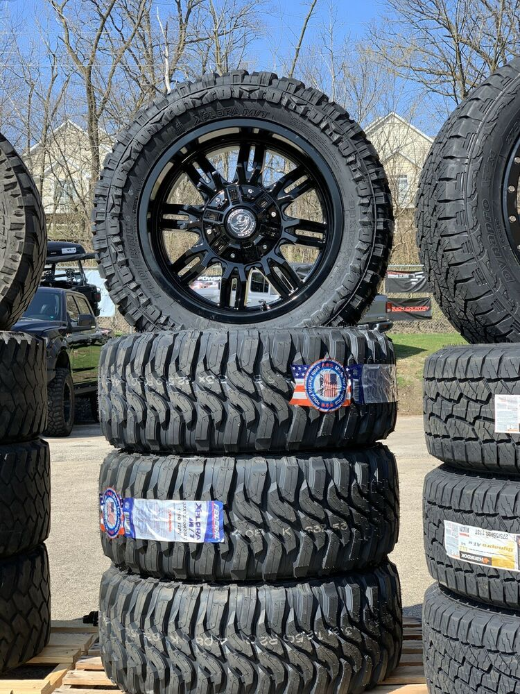 """Jeep Mud Tires >> JEEP Off Road Wheels and Mud Tires 33 12.5 20"""" x5 Federal Couragia MT Brand NEW 