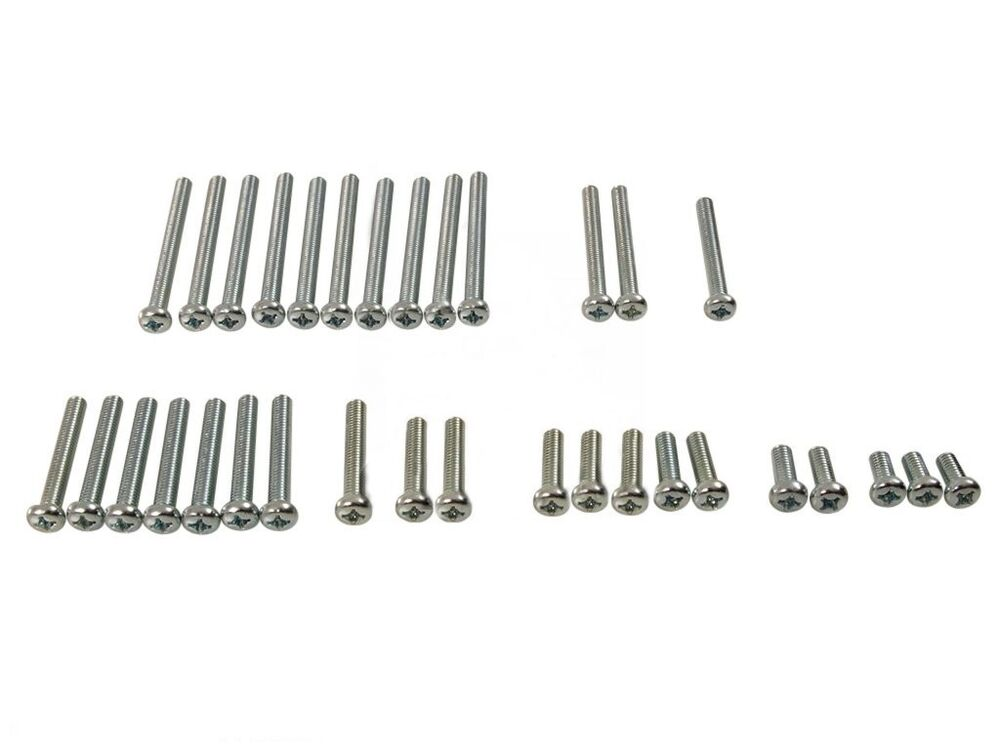 honda z50 ct70 st70 sl70 atc70 engine screw set silver