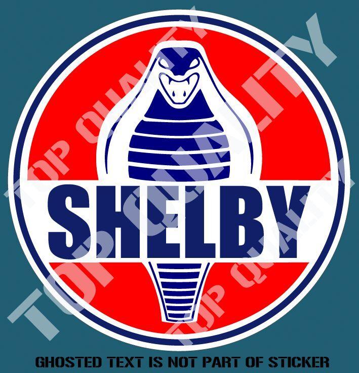 Old Ford Trucks Decals : Vintage shelby decal sticker ford mancave hot rod
