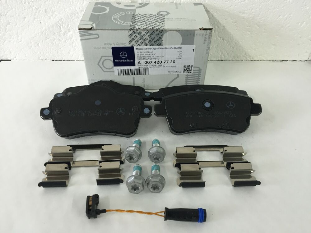 Genuine mercedes benz x166 ml gl rear brake pads inc for Mercedes benz gl450 brake pads