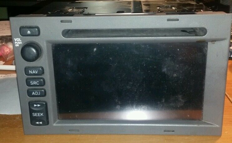 2005 saab 9 5 95 9 5 navigation unit screen radio tv with. Black Bedroom Furniture Sets. Home Design Ideas