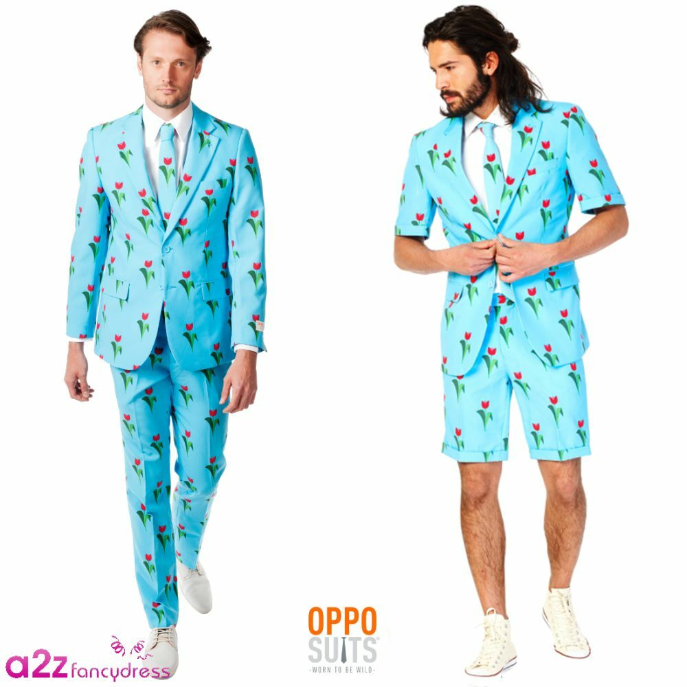 0f300a1ec7ca MENS ADULT SUMMER SHORTS JACKET BLUE OPPOSUITS SUIT PARTY PROM NOVELTY  OUTFIT