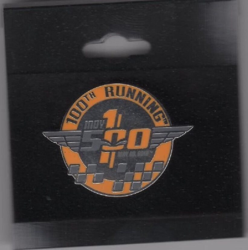 Indy 500 pin 100th running 2016 anniversary indianapolis for Indianapolis motor speedway clothing