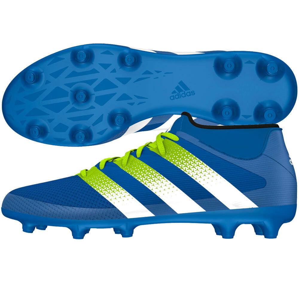 7ffb746a2 Details about adidas Ace 16.3 Primemesh FG   AG 2016 Soccer Cleats Shoes  New Blue   Green