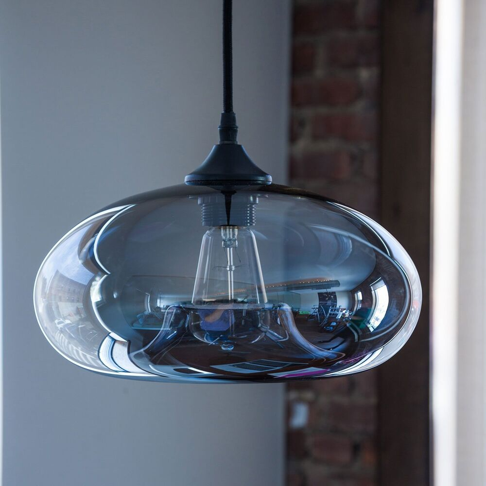 Ceiling Light Fixtures Kitchen: Vintage Clear Glass Ball Pendant Lamp Light Kitchen