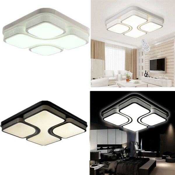 36w 48w quadrat ceiling led modern deckenleucht wandlampe. Black Bedroom Furniture Sets. Home Design Ideas