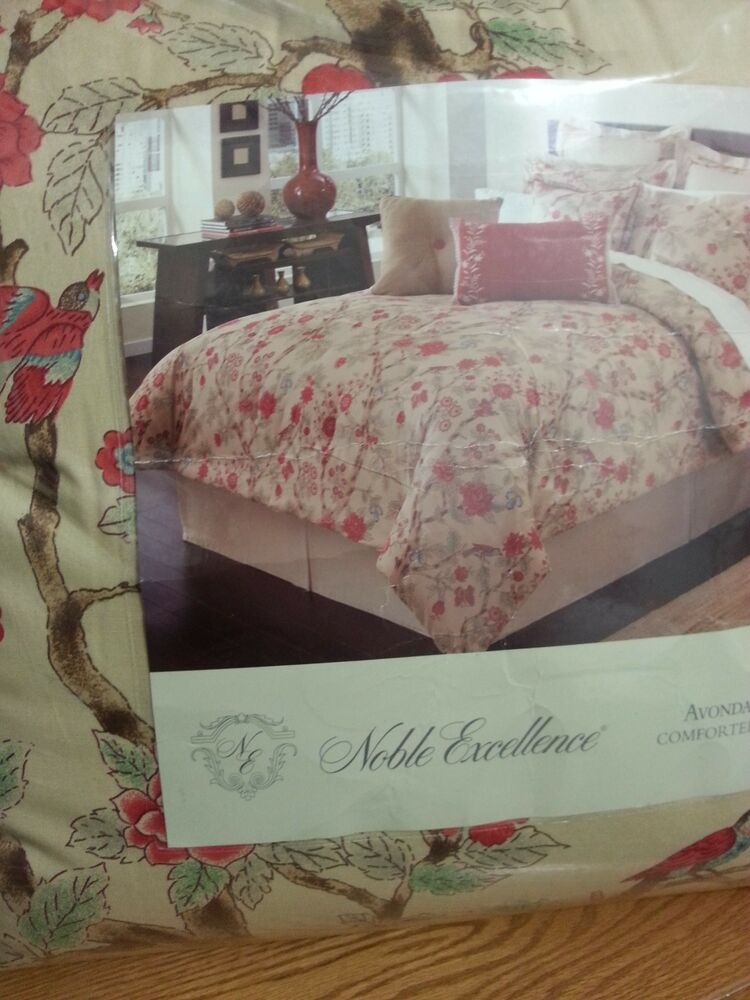 Noble Excellence Avondele King Comforter Set 6 Pcs Ebay