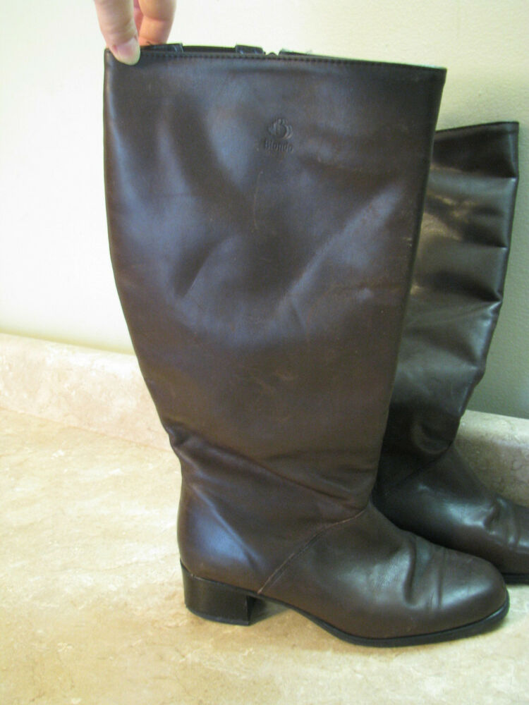 blondo aqua protect waterproof boots brown leather