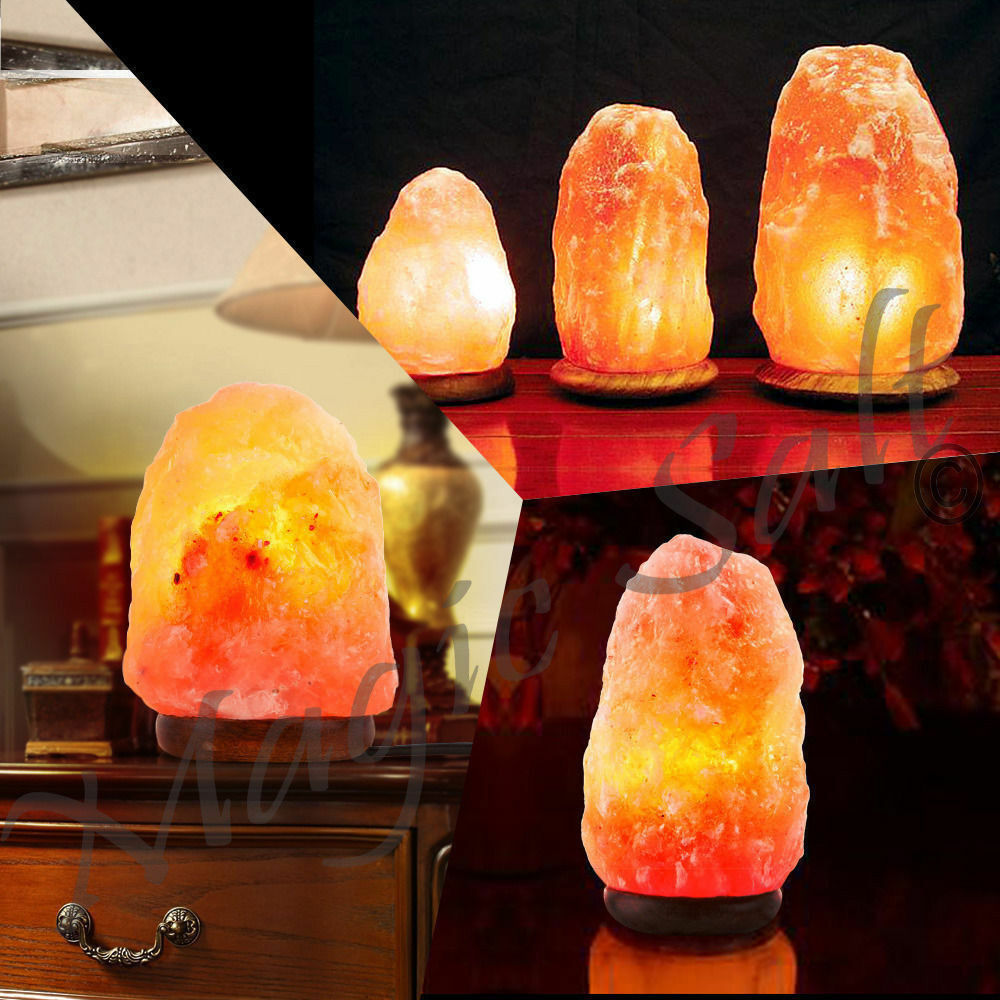 Salt Lamp Sizes For Rooms : Himalayan Pink Salt Lamp Natural Rock salt lamp Salt Lamp Ioniser Different Size eBay