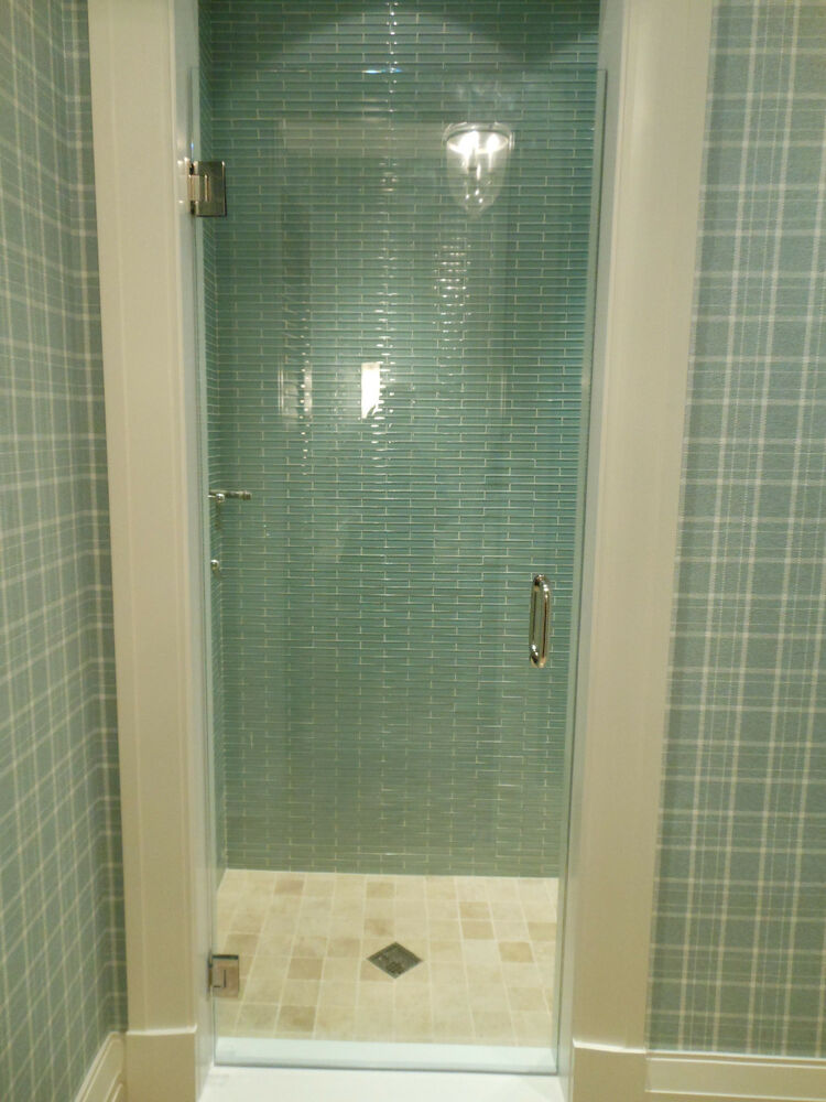 Frameless Shower Door 24 Quot 28 Quot X 72 Quot 76 Quot Or 78 Quot 3 8 Glass