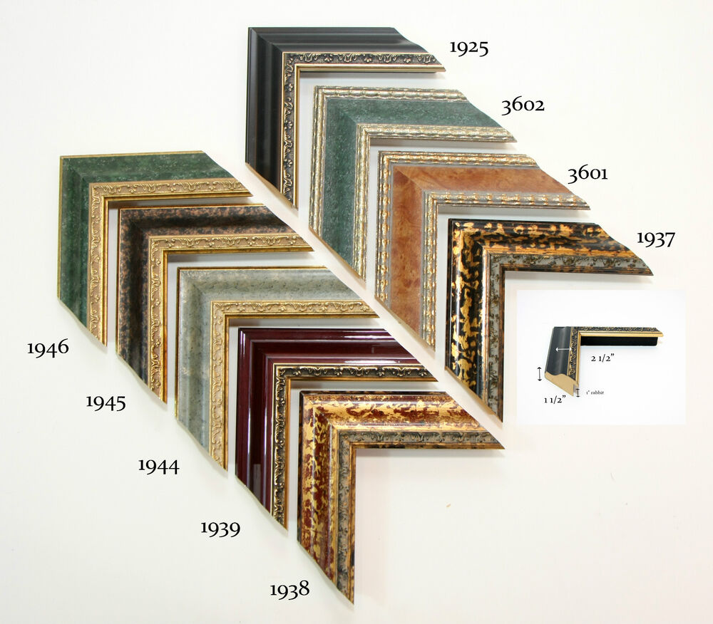 Custom Picture Frame Decorative Ornate Large 2 1 2