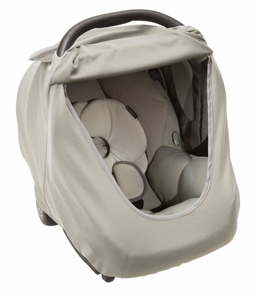 maxi cosi mico infant car seat cover grey brand new free shipping ebay. Black Bedroom Furniture Sets. Home Design Ideas