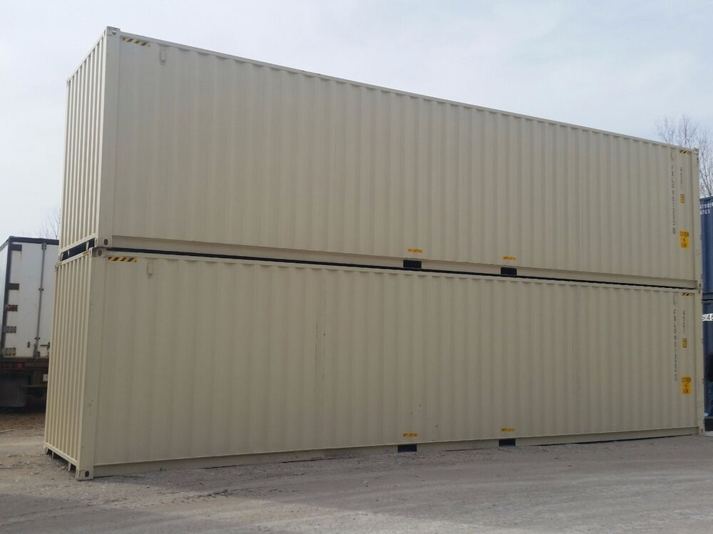 New 40ft high cube shipping container fort worth tx ebay - 40ft shipping container home ...