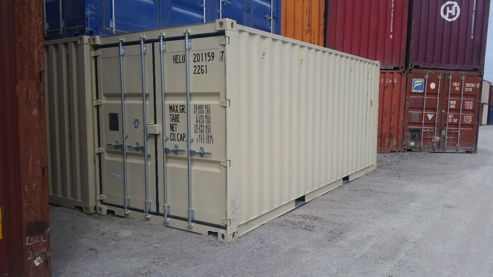 new 20ft shipping container fort worth tx ebay. Black Bedroom Furniture Sets. Home Design Ideas
