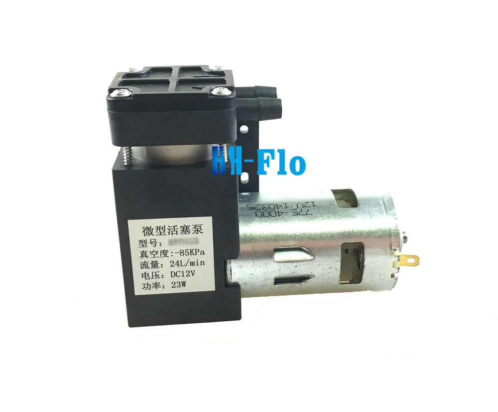 Micro Air Vacuum Pump 12v 24l M 23w Air Compressor