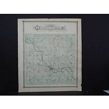 Wisconsin, Sauk County Map 1906  Lavalle Township L22#27