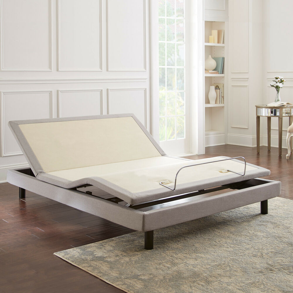New boyd contempo vi queen adjustable bed with dual for Adjustable beds