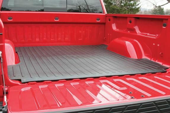 Trail Fx 210d Black Nyracord Rubber Bed Mat For 75 86