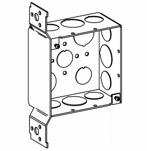 75 Fb 4 Inch Square Box 2 13 Inch Deep And Bracket 0 5