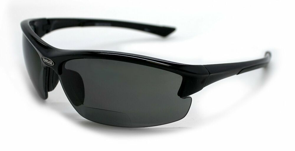 Polarized bifocal sunglasses with readers ebay for Bifocal fishing sunglasses