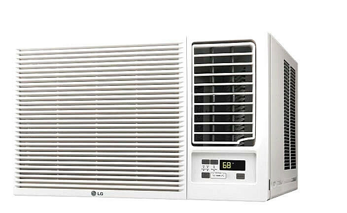Lg lw1216hr 12 000 btu 220v window a c w heat remote for 12000 btu window ac with heat