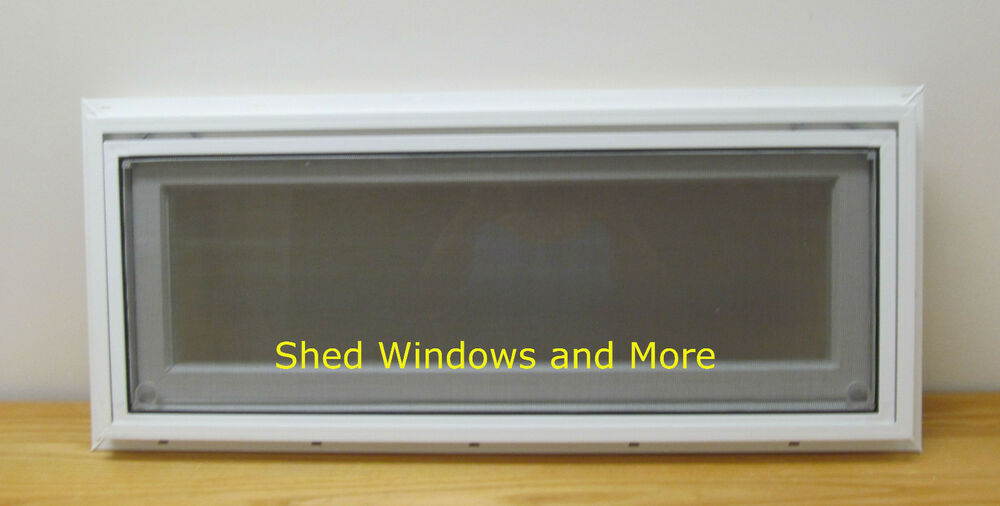 transom awning window insulated pvc    shed tiny house playhouse homes  ebay