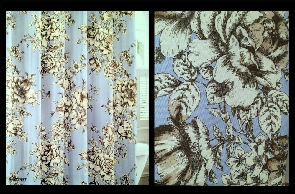 laura ashley bancroft blue floral rose sunflower sketch. Black Bedroom Furniture Sets. Home Design Ideas