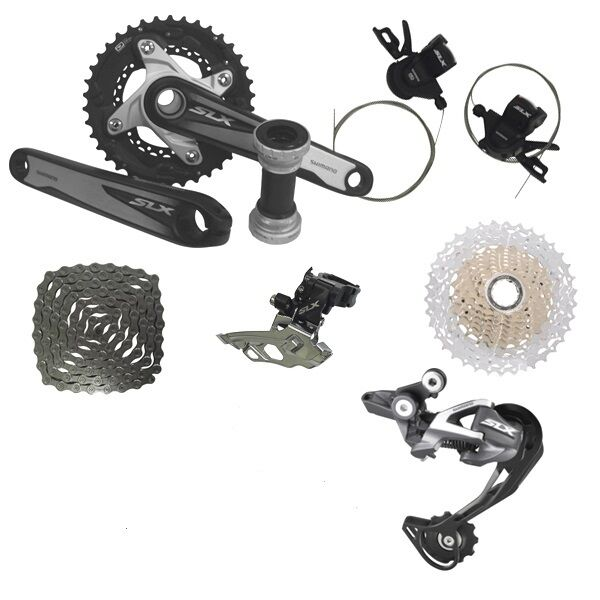 New Shimano Slx M670 2x10 Speed Mtb Groupset 7 Pcs Slx