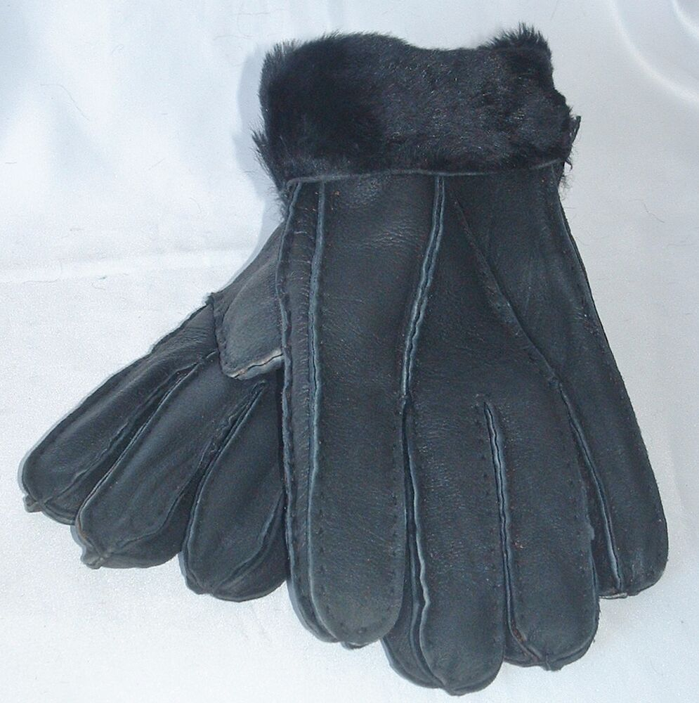 how to clean shearling gloves