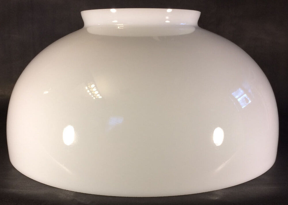 NEW 14 Dome Hanging Table Opal White Glass Kerosene Oil