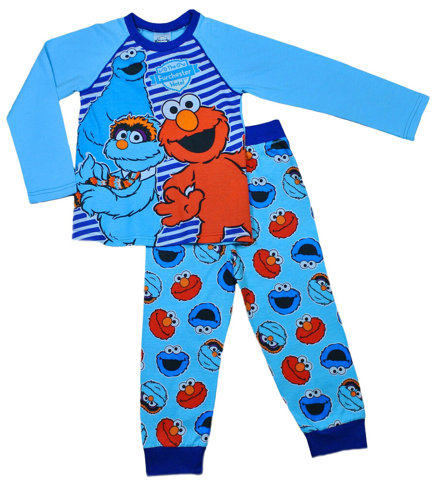 Boys Furchester Hotel Pyjamas 2 to 5 Years Elmo Pyjamas ...