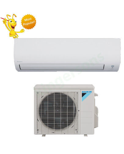 30000 btu daikin 19 3 seer ductless wall mounted heat pump air conditioner ebay. Black Bedroom Furniture Sets. Home Design Ideas