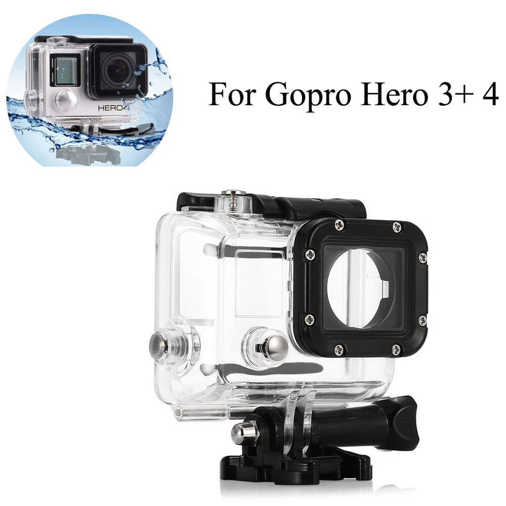 waterproof diving housing case for gopro hero 3 hero 4. Black Bedroom Furniture Sets. Home Design Ideas