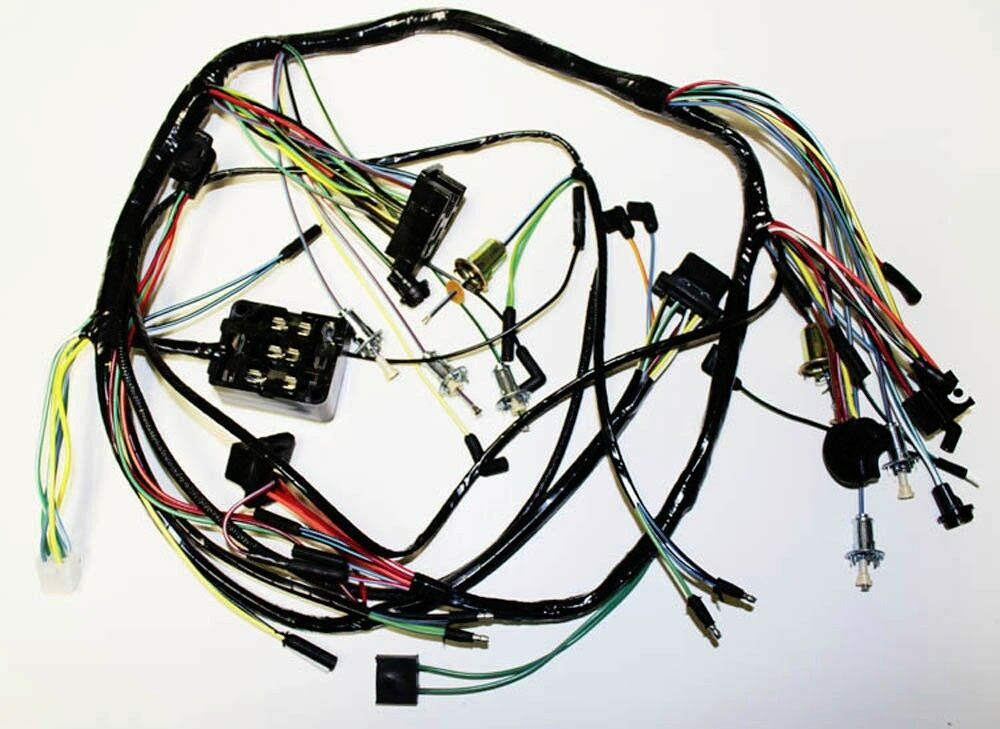 1990 mustang gt dash wiring harness 88 mustang gt 50 wiring harness 1965 ford mustang under dash complete wire harness made in ...